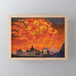 Nicholas Roerich - St Sophia The Almighty Wisdom - Digital Remastered Edition Framed Mini Art Print