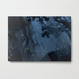 Dapplewood (Night) Metal Print