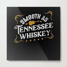 Country Music Whiskey Metal Print