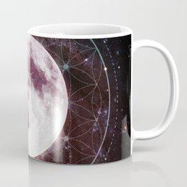 Moondala - Moon Sacred Geometry Mandala Coffee Mug
