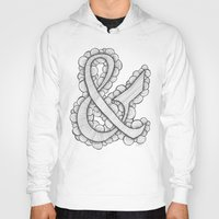 ampersand Hoodies featuring Ampersand by Laura Maxwell
