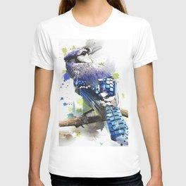Bird Blue Cristata T-shirt