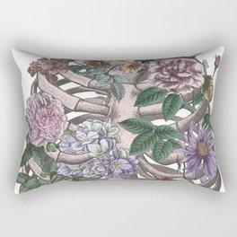 flowering ribs Rectangular Pillow