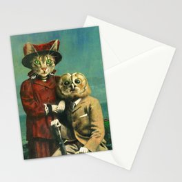 The Owl And The Pussy Cat Stationery Cards