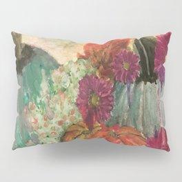Pumpkins and Flowers Pillow Sham
