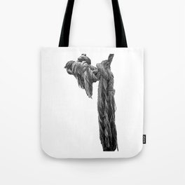 frayed Tote Bag