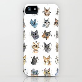 50 cat bleps! iPhone Case