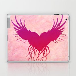 Give wings to my heart Laptop & iPad Skin