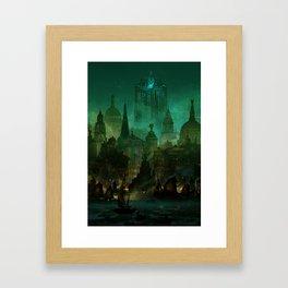Angelwatch Framed Art Print