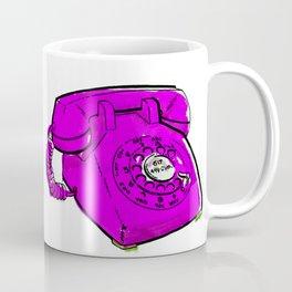 Colorful Telephones Coffee Mug