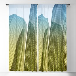skyscraper Blackout Curtain