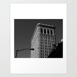 Look up New York 14 Art Print