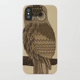 The Laughing Owl iPhone Case
