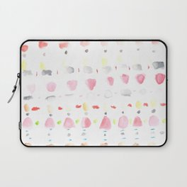 170404 Steady Pacing 3 |Modern Watercolor Art | Abstract Watercolors Laptop Sleeve