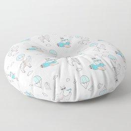 Llama pilot Floor Pillow