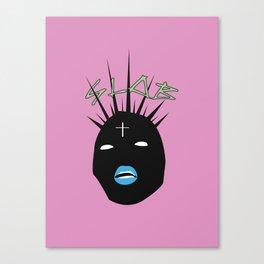 SLOB NOT SNOB Canvas Print