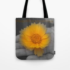 Be Happy. Tote Bag