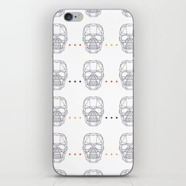 Skull Pattern iPhone Skin