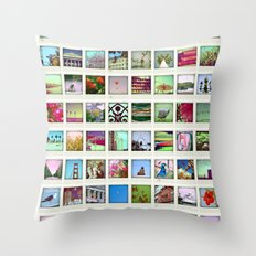 collection of moments Throw Pillow