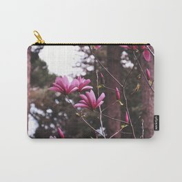 Pink flowers by Giada Ciotola Carry-All Pouch