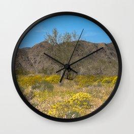 Super Bloom 7305 Paradise Joshua Tree Wall Clock