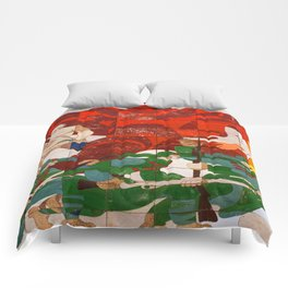 RED BOOT Comforters
