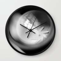 aperture Wall Clocks featuring Aperture Lashes by Aperture