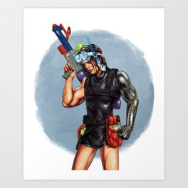 Summer Soldier Art Print