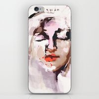 givenchy iPhone & iPod Skins featuring Madonna and Baby (GIVENCHY) by Jacobello