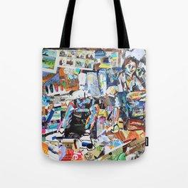 2-Figure Collage Tote Bag