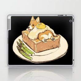 dog on sandwich Laptop & iPad Skin