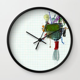 "Thing that goes ""Ding"" Wall Clock"