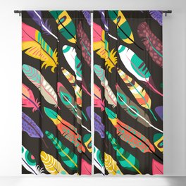 Feather Fever Blackout Curtain