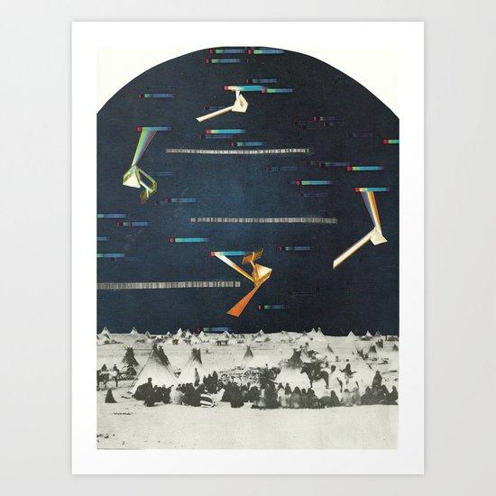 Prism Nations Art Print