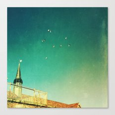 That's Where You'll Find Me V1 Canvas Print