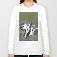goat Long Sleeve T-shirts featuring Goat by Jessie Prints Stuff