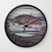 circle Wall Clocks featuring CIRCLE by Julia Yusupov
