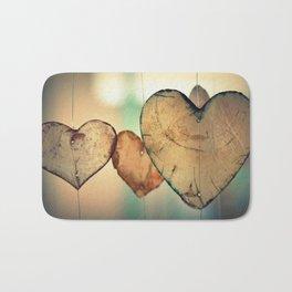 Hearts | Coeurs Bath Mat
