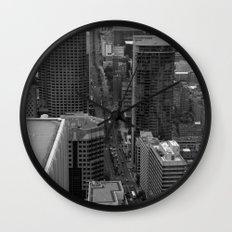 Montreal downtown in B&B Wall Clock
