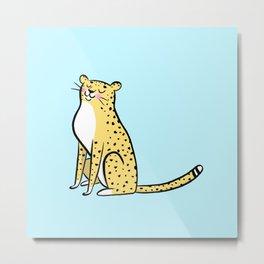 Cheetah Print by ROH NOH Metal Print