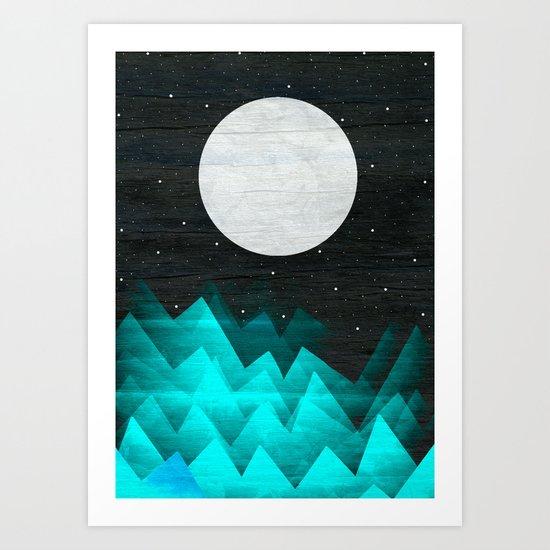 Night Waves Art Print