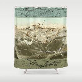 Fishman Quest Shower Curtain