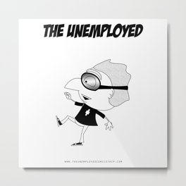 The Unemployed - Polino Metal Print