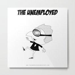 The Unemployed - Polino Metal Print