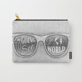Going to see the world Carry-All Pouch