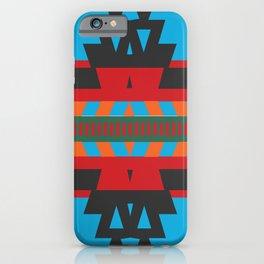 American Native Pattern No. 81 iPhone Case
