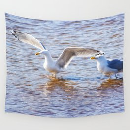 Two at Sea Wall Tapestry