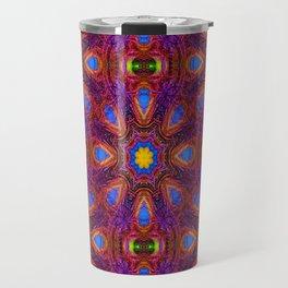 Peacock's Delight.... Travel Mug