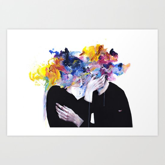 intimacy on display Art Print