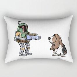 Give me the bowl Rectangular Pillow